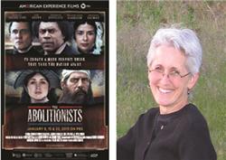 Film poster and Dr Susan O'Donovan